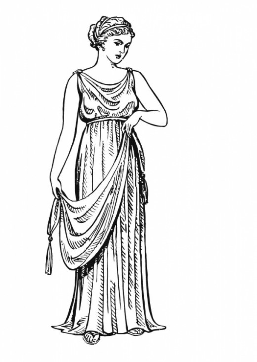 Awesome These Dresses Came Down To Their Ankles, Even For Younger Girls When It Was Cold, Women Also Had Long Wool Cloaksblankets To Keep Them Warm Even When It Wasnt Cold, Most Greek Women Who Werent Slaves Wore A Shawl