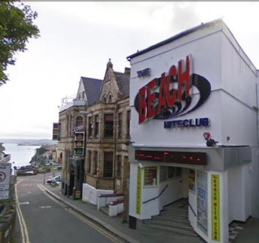 Nightlife in Newquay: The Beach Nighclub, Newquay