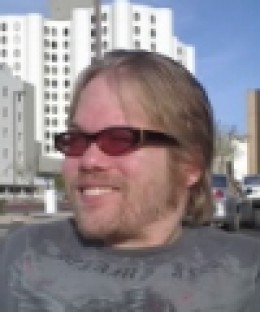 Here's your author in sunny Phoenix - April 2008.