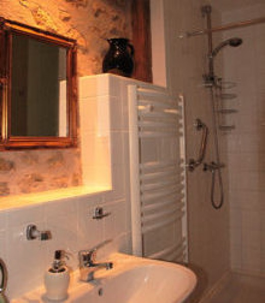 All be bedrooms have their own showers and WC's. Bedroom 2 has a bath as well.