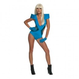 "Get the GaGa look with this swimsuit outfit replica of the one she wore in ""Poker Face"" for you Halloween costume."