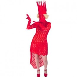"""Bad Romance"" music video outfit worn towards the end of the music video. Video also featured this outfit in white at the beginning."