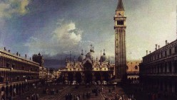 On Viewing Canaletto's Painting of Saint Mark's Square (Poem)