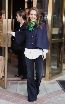 Caped Natalie Portman
