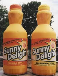 Sunny delight has high fructose corn syrup