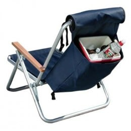 Camping Chair with Built-In Cooler (this one more suitable for fishing)