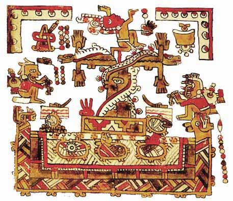 This Olmec tree of life artifact shows similarity to the Maya art that followed.
