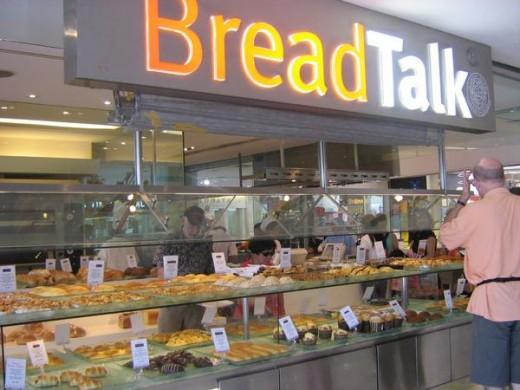 Bread Talk Bakery, Discovery Mall, Bali