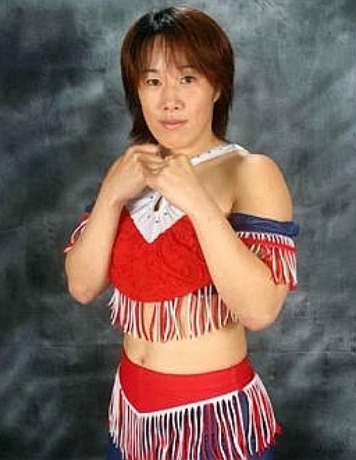 Indy wrestler Sumie Sakai