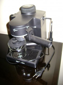 A Coffee maker is designed to break down eventually  Photo Credit: Wikipedia