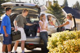 Parents are responsible for their children's travel and lodging to and from the wedding