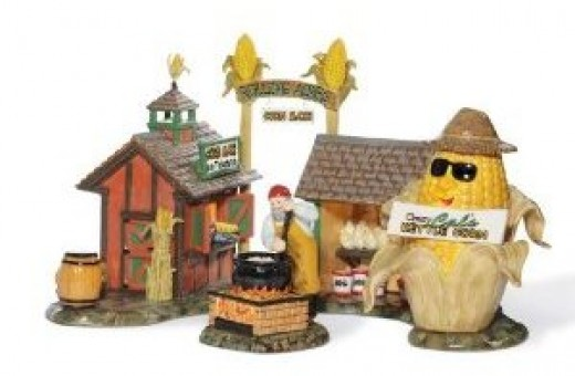 Department 56 creations at Bronner's available on Amazon below.
