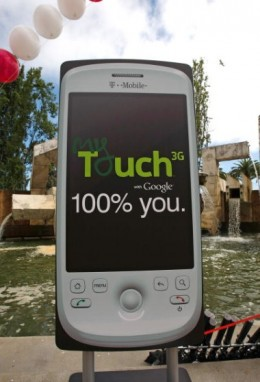 myTouch is an upcoming android phone.