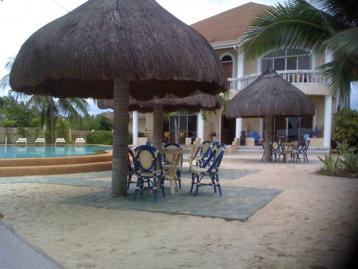 Linaw Beach front