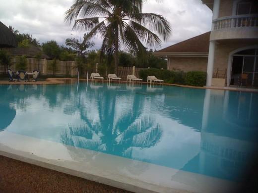 Infinity pool, Linaw resort