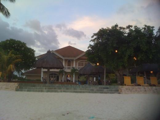 Beach front, Linaw Resort
