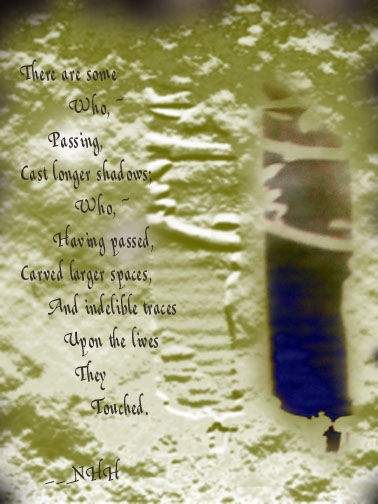 Photography, graphic artwork and poem © Nellieanna Hay