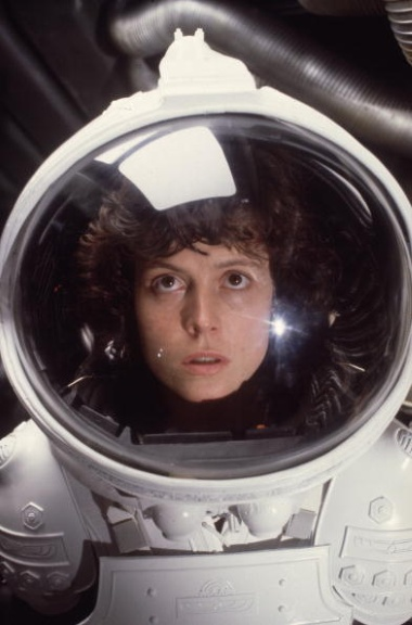 Fear is always present in the suspense movie, Alien.