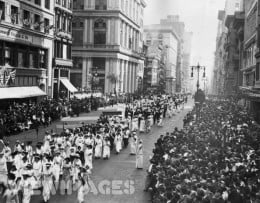 A suffrage parade.