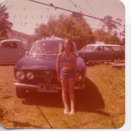 My 1968 Alfa Romeo GTV Veloce 1750. Many Alfa's were sold in Australia.