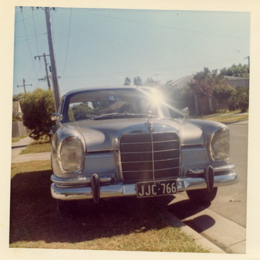 My 220 SEB Mercedes Benz. Very few of the 1965 model were imported to Australia. It took me 6 months to find this one.
