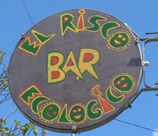 El Risco bar sign
