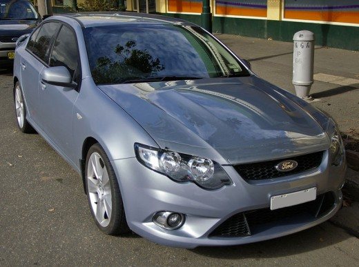 Ford Falcon 2008 Model FG Model XR8