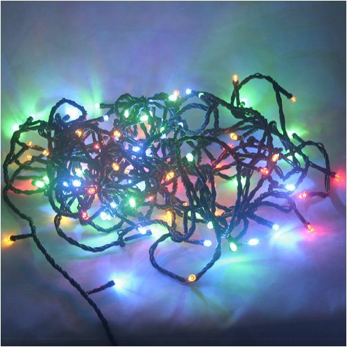 Multi Color Changing RBG 100 LED Christmas Light string
