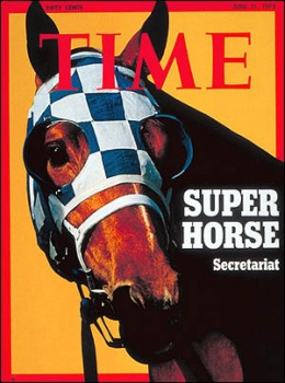 Secretariat Cover Of Magazine