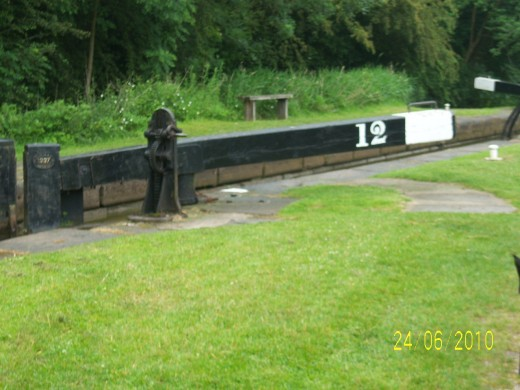 Lock 12 Bosley Locks