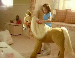How Big is a Furreal Butterscotch Pony?