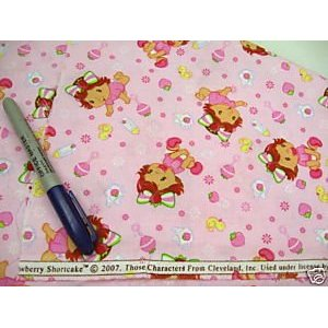 Fabric Quilting Baby Strawberry Shortcake EE263