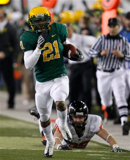 LaMichael James Oregon Running back 2010 Heisman Hopeful