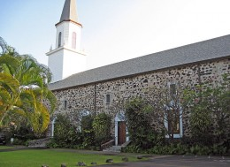 Moku'aikaua Church, established by the Thurstons