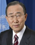 Ban Ki-moon, current UN Secretary General