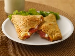 Delicious Crescent Pizza Pockets