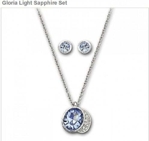 Gloria Light Sapphire Set