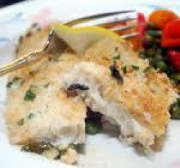 You can plate your baked haddock with some vegatables