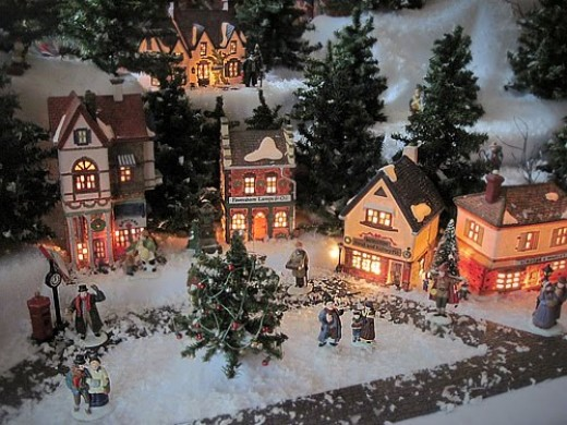 Department 56 Displays On Pinterest Halloween Village