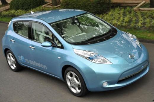 Nissan Leaf All Electric Car