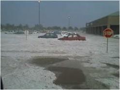 2009 - Hail storm in Klerksdorp © Martie Coetser