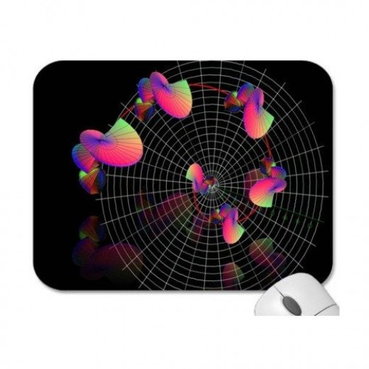 Designer Mouse Pads - Engineering/Mathematics/Scientific: 3D Math Graphs