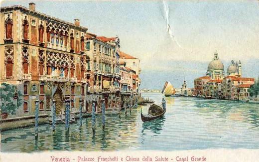 Palazzo Franchetti e Chiesa della Salute - Canal Grande
