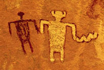 The Anasazi were also accomplished artisans in painting and pottery, decorating them with geometrical and figurative motifs.