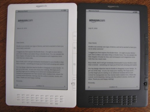 Old Vs New Kindle