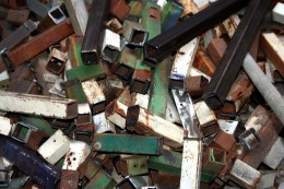 Take junk metals to local recycling facilities to make extra money.