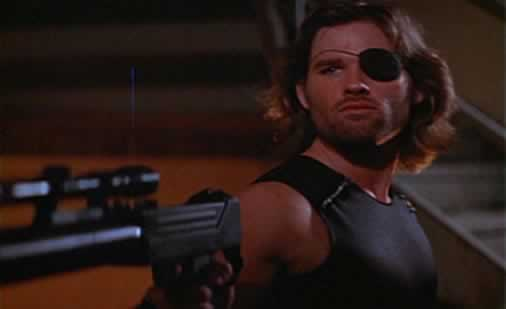 Kurt Russell is Snake Plissken in Escape from New York