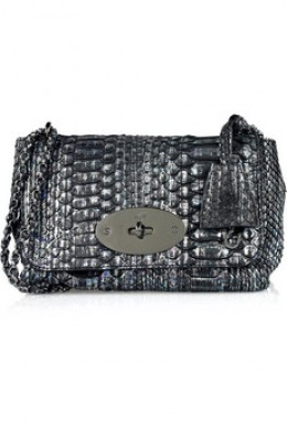 Mulberry Lily Python Shoulder Bag 1250 UKP