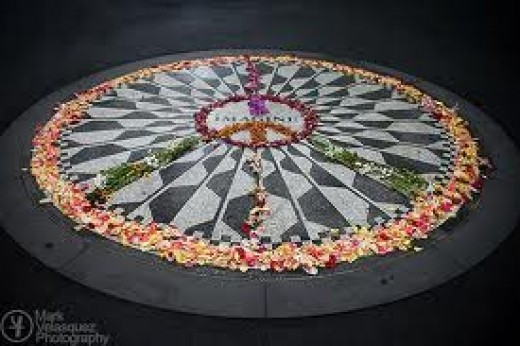 Strawberry Fields Memorial
