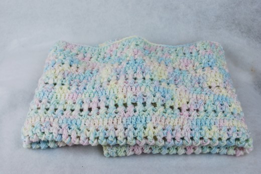 Free Crochet Bubble Stitch Baby Blanket Pattern Crochet Pattern